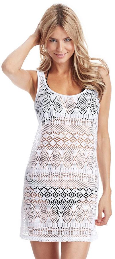 Платье белое повседневное