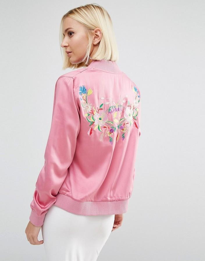 Женская куртка бомбер (50 фото) С