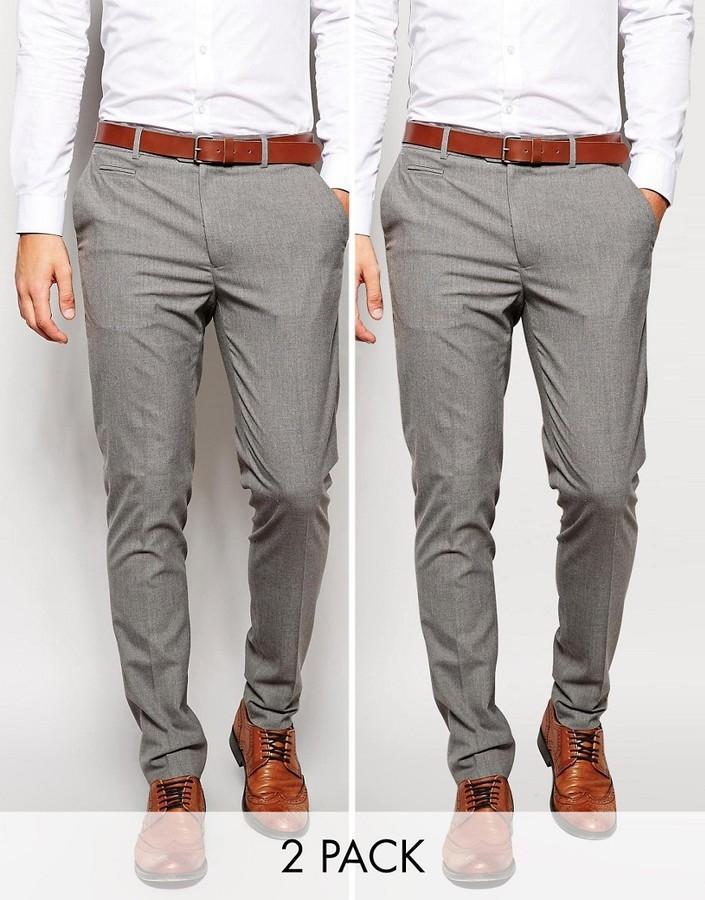 Мужские серые штаны с чем носить