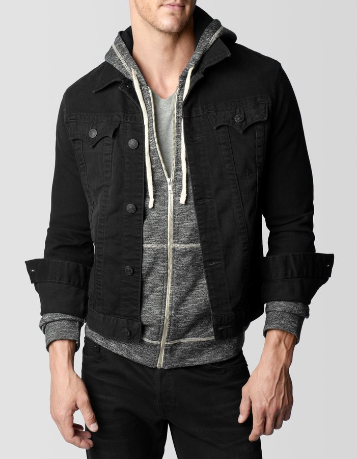 Images of Black Jackets For Men - Reikian