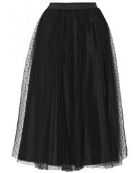 платья с фартуком на выпускной