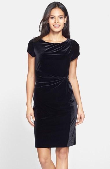 Как сшить маленькое черное платье из бархата 57