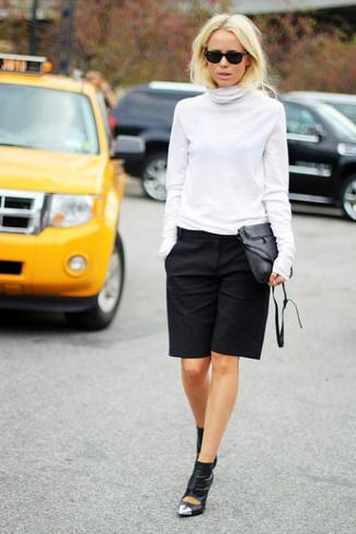 Шорты длинные женские с чем носить