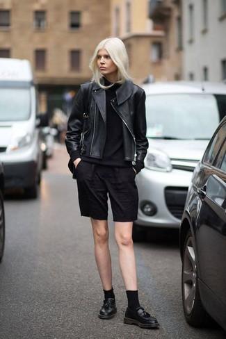 лоферы женские фото с чем носить черные