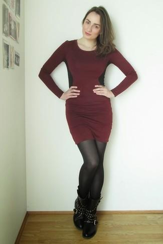 Burgundy Sweater For Women