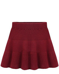 Кожаная красная куртка женская с чем носить