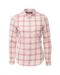 Женская бежевая классическая рубашка от Levi's