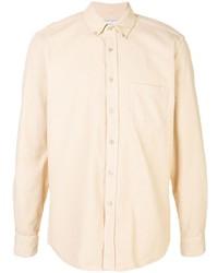 Мужская бежевая классическая рубашка от Portuguese Flannel