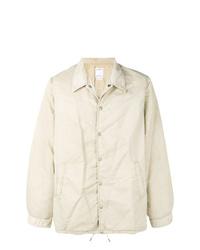 Бежевая куртка-рубашка