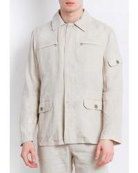 Мужская бежевая куртка-рубашка от FiNN FLARE