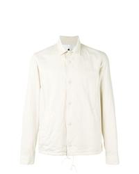 Мужская бежевая куртка-рубашка от Ganryu