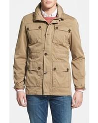 Бежевая полевая куртка