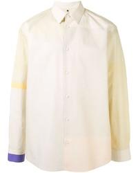 Мужская бежевая рубашка с длинным рукавом от Oamc