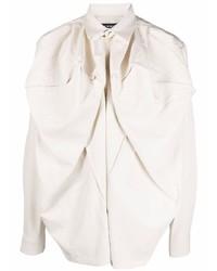 Мужская бежевая рубашка с длинным рукавом от Y/Project