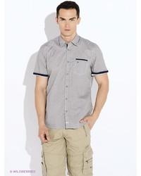 Мужская бежевая рубашка с коротким рукавом от LERROS
