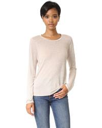 Женская бежевая футболка с длинным рукавом от Stateside