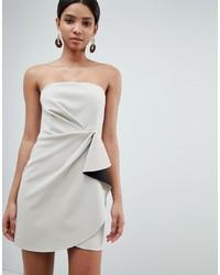 5275dbf810a Купить бежевое коктейльное платье - модные модели коктейльных ...