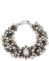 Бежевое ожерелье-чокер