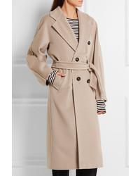 21bad352e49 ... Женское бежевое пальто от Max Mara ...