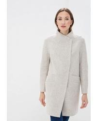 Женское бежевое пальто от Paradox