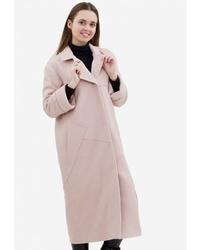 Женское бежевое пальто от Pavel Yerokin