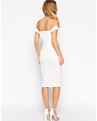 d967966d800 ... Бежевое платье-футляр от Asos ...