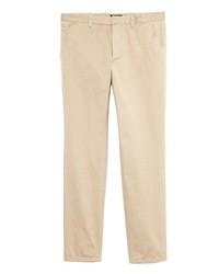 бежевые брюки чинос original 1849497