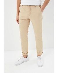 Бежевые брюки чинос от Adolfo Dominguez