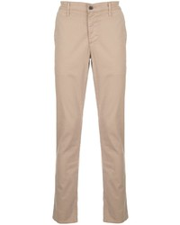 Бежевые брюки чинос от AG Jeans