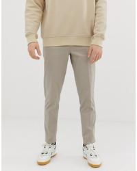 Бежевые брюки чинос от ASOS DESIGN