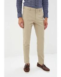 Бежевые брюки чинос от BAWER