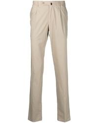 Бежевые брюки чинос от Incotex