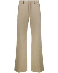 Бежевые брюки чинос от Kenzo