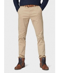 Бежевые брюки чинос от Tom Tailor Denim