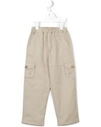 Детские бежевые брюки для мальчику