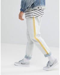 Мужские бежевые джинсы от ASOS DESIGN