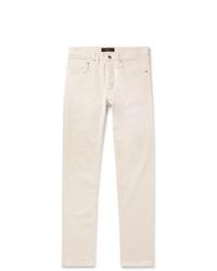 Мужские бежевые джинсы от Brioni