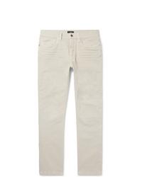 Мужские бежевые джинсы от Dunhill