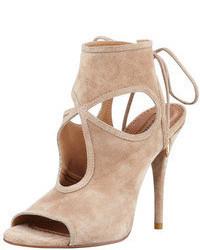 Как Olivia Palermo носит Светло-коричневая замшевая классическая ... 50c5ff26596