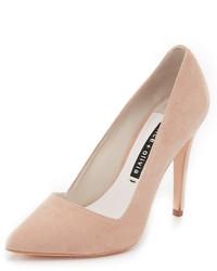 Бежевые замшевые туфли от Alice + Olivia