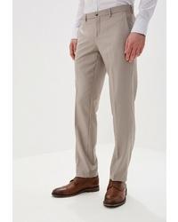 Мужские бежевые классические брюки от Marcello Gotti