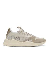 Мужские бежевые кроссовки от Moncler