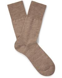 Мужские бежевые носки от Falke