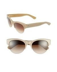 Бежевые солнцезащитные очки