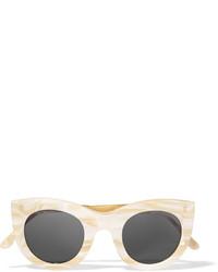Женские бежевые солнцезащитные очки от Illesteva