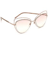 Женские бежевые солнцезащитные очки от Marc Jacobs