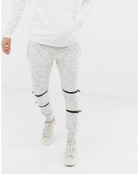 Мужские бежевые спортивные штаны от Brave Soul