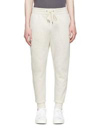 Мужские бежевые спортивные штаны от Helmut Lang