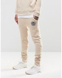 Мужские бежевые спортивные штаны от Hype