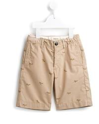Детские бежевые шорты для мальчику